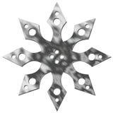 metalowe odizolowana gwiazda ilustracja wektor