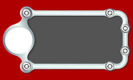 metalowe ramowy Obrazy Stock