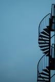 metalowe schody Fotografia Stock