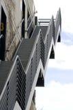 metalowe schody się iść Obraz Stock