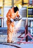 metalowe szlifierski Zdjęcie Stock