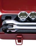 metalowe zestawów narzędzi Fotografia Royalty Free