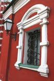 metalowy kratownica okno Fotografia Royalty Free