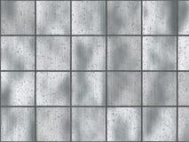 metalowy oczyszczone square kafli. Zdjęcie Stock