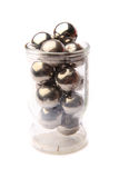 Metals spheres isolated Stock Photo