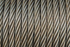 Metalseilzug Stockbild