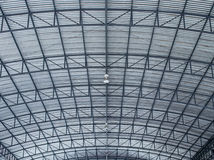 Metalsheet-Dach Stockfoto