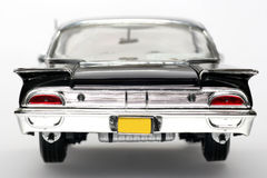 Metalskalaspielzeug-Auto backview 1960 Ford-Starliner Stockfoto