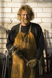 Metalsmith portrait. Stock Photography