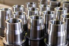 Metalteile stockbilder