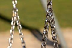 Metalu łańcuchu szczegół Obraz Royalty Free