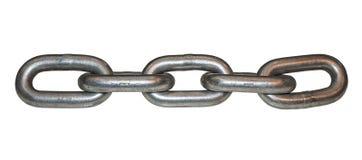 Metalu łańcuszkowy połączenie 2 zdjęcia stock