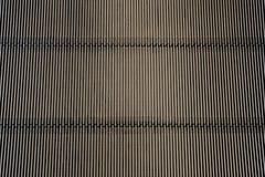 Metalu żelazny tło (szczegół od eskalatoru - tekstura) Obrazy Stock