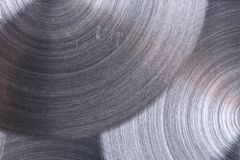 Metalu żelazo z kółkowym tekstury tłem zdjęcia royalty free