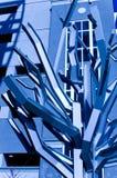 metalu abstrakcjonistyczny drzewo Zdjęcia Royalty Free