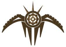 metalu abstrakcjonistyczny symbol Zdjęcie Stock