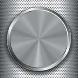 Metalu aluminium talerz ilustracja wektor