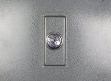 Metalu bezpieczeństwa depozytu kędziorek z bliska Fotografia Stock