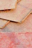 Metalu bezszwowy diamentowy talerz Obrazy Royalty Free