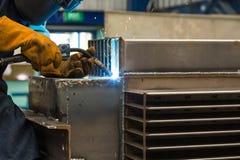 Metalu bezwładnego gazu spaw (MIG) Obrazy Stock