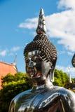 Metalu Buddha statua w Chiang Mai, Tajlandia Obrazy Stock