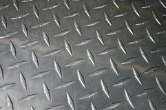 Metalu checker talerz Zdjęcia Royalty Free