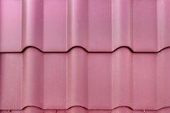 Metalu dachówkowy dach Zdjęcia Royalty Free