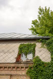 Metalu dach z skylights i Loft Obrazy Stock
