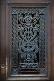 Metalu drzwi zdjęcia stock