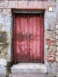 Metalu drzwi obraz royalty free