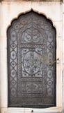 Metalu drzwi Zdjęcia Royalty Free