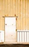 Metalu drzwi tło Zdjęcie Royalty Free