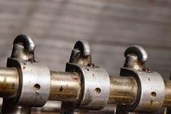 Metalu dyszel z nozzles dla atramentu Zdjęcia Royalty Free