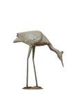 Metalu flaminga ogródu wystrój Obraz Royalty Free