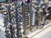 Metalu i aliażu węża elastycznego patka fotografia royalty free