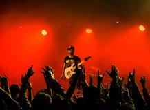 Metalu koncert Zdjęcia Stock