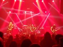 Metalu koncert jestem Chorobliwy obraz stock