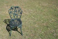 Metalu krzesło Zdjęcie Royalty Free