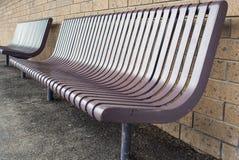 Metalu krzesło Obraz Royalty Free