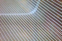 Metalu krzesła powierzchnia Zdjęcia Royalty Free