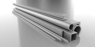 Metalu materiał budowlany ilustracja wektor