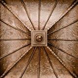metalu miedziany talerz Zdjęcie Royalty Free
