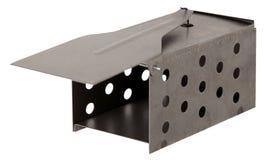 Metalu mousetrap odizolowywający na białym tle obraz royalty free