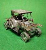 Metalu na dużą skalę model stary samochód Obrazy Royalty Free