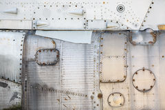 metalu nitów tekstura obrazy royalty free