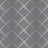 Metalu non ślizgania tło bezszwowy wzoru royalty ilustracja
