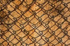 Metalu ośniedziały drut Zdjęcie Stock