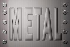 metalu oczyszczony talerz ilustracja wektor