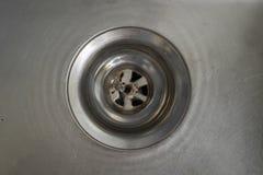 Metalu odcieku filtra kanał ściekowy Zdjęcie Royalty Free