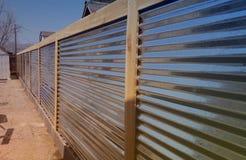 Metalu ogrodzenie Zdjęcie Royalty Free